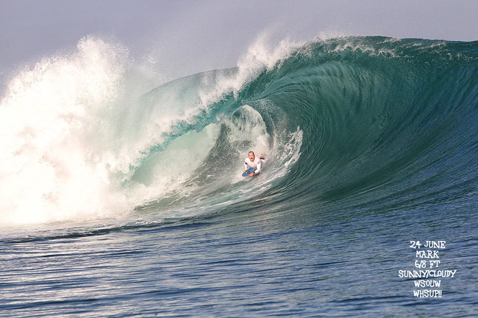 G-land Daily Surf Report 24 June 2018