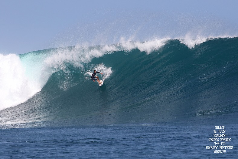 G-land Daily Surf Report 15 July 2018