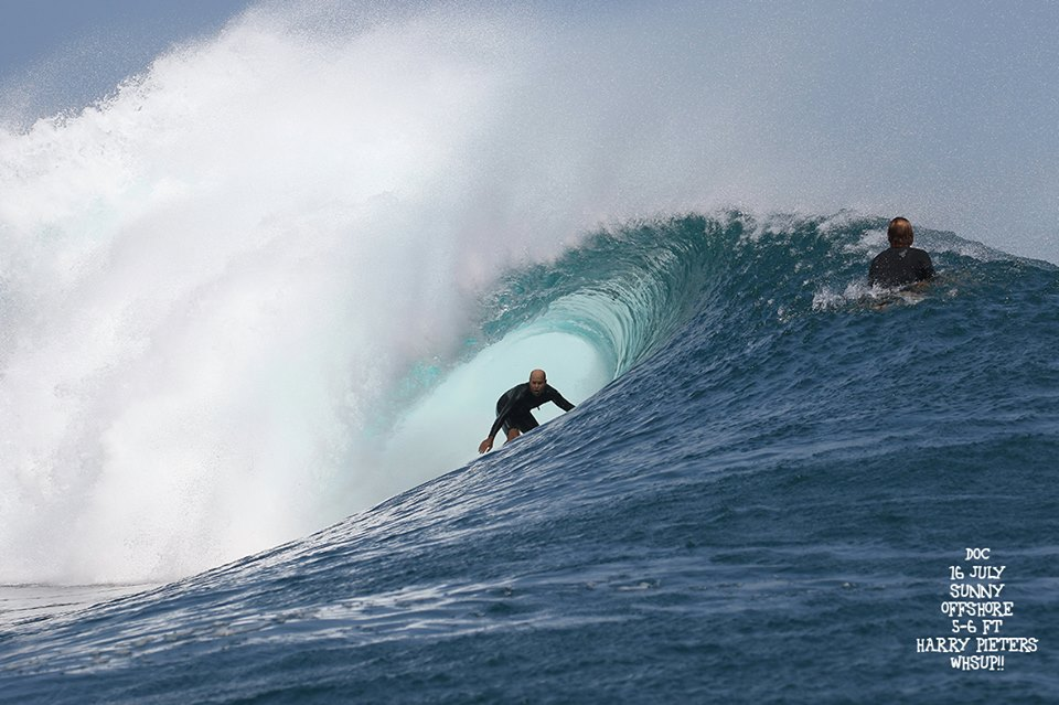 G-land Daily Surf Report 16 July 2018