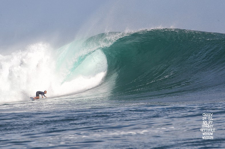 G-land Daily Surf Report 29 July 2018
