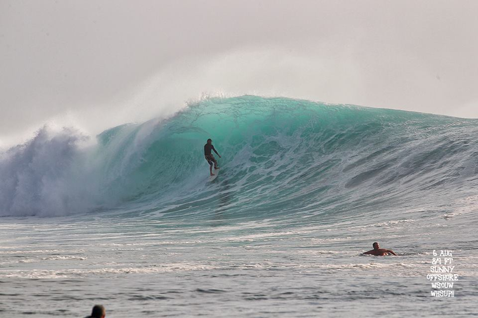 G-land Daily Surf Report 6 August 2018